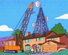 Simpsons Cell Tower