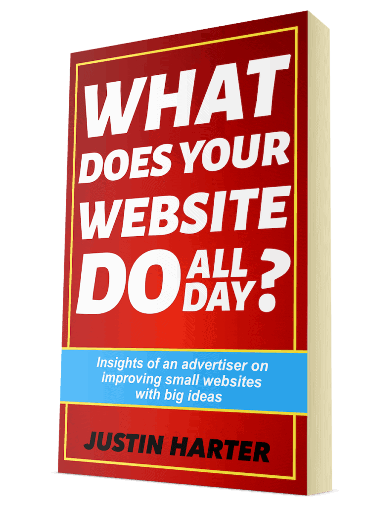 What Does Your Website Do All Day Book Cover